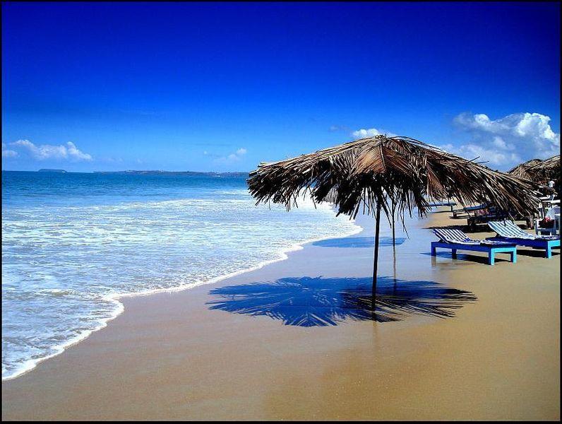Colva Beach Goa TOP 5 TOURIST PLACES IN INDIA