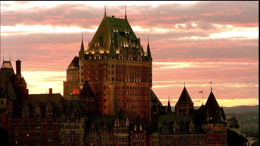 Le château Frontenac Vieux-Québec