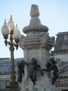 plaza congresso statue, buenos aires statues