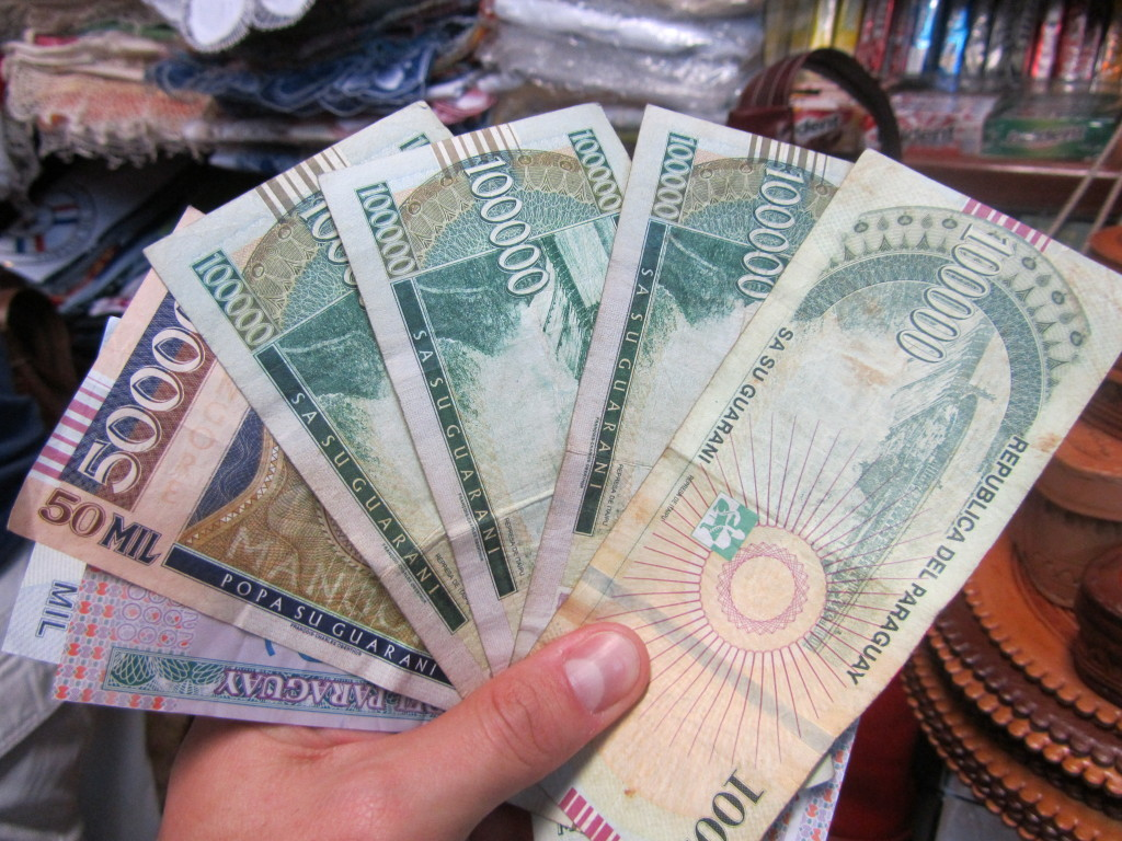 Paraguay money, Paraguay currency